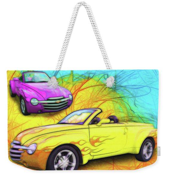 03 Chevy Ssr Weekender Tote Bag
