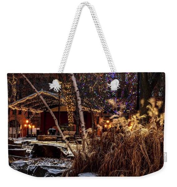 033 - Mears In Winter Weekender Tote Bag
