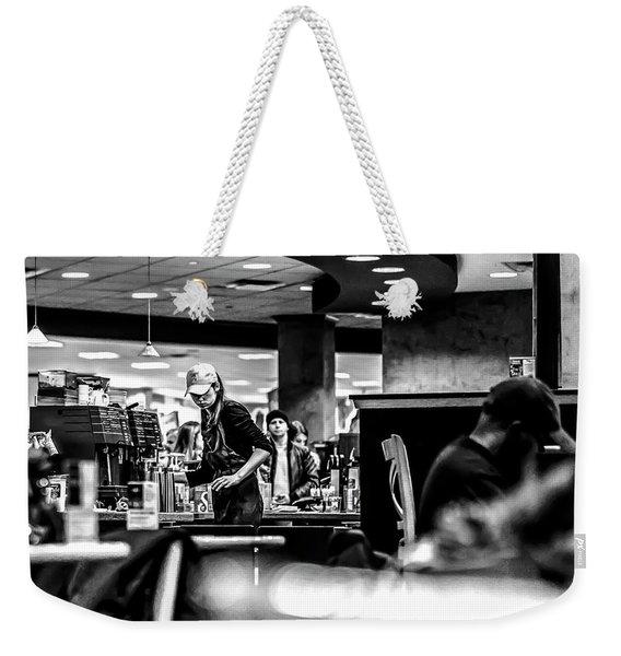 035 - Barista Weekender Tote Bag