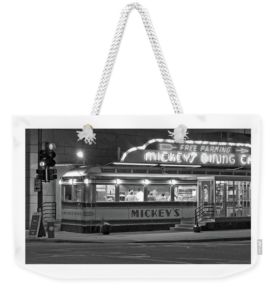 037 - Dining Car Weekender Tote Bag