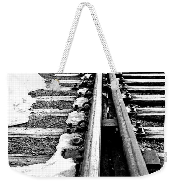 041 - Rail Switch Weekender Tote Bag