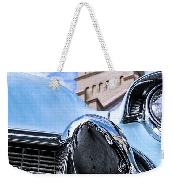 042 - Blue Caddy Weekender Tote Bag