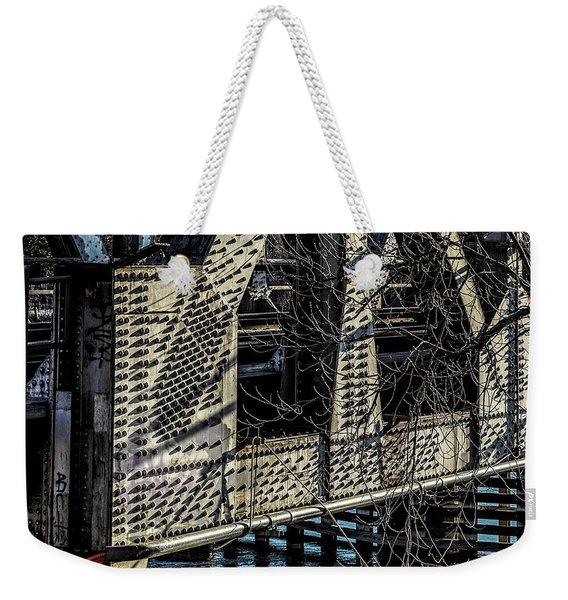 052 - Trestle Rivets Weekender Tote Bag