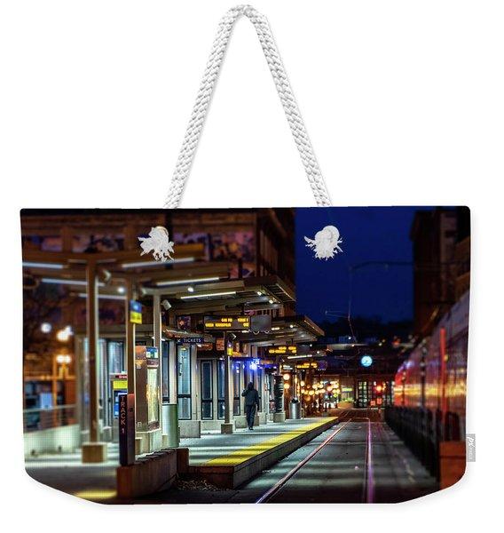 057 - Last Stop Weekender Tote Bag