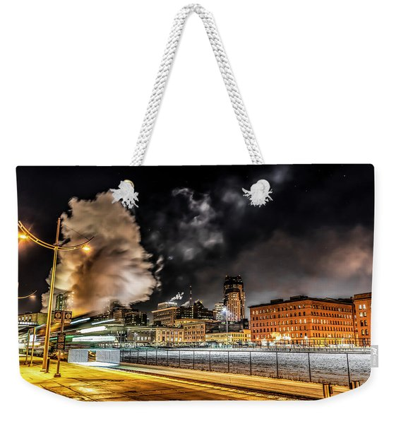 059 - Steam Locomotive Weekender Tote Bag