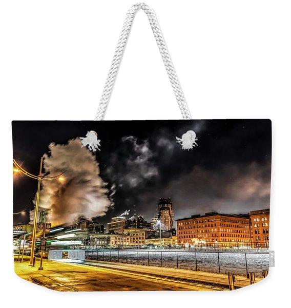 059 - Steam Locomotive Weekender Tote Bag