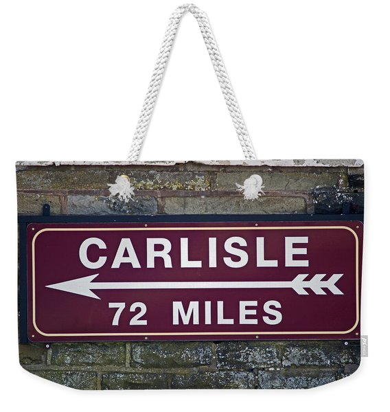 06/06/14 Settle. Period Destination Board. Weekender Tote Bag