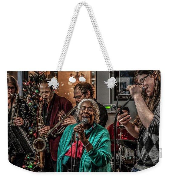 060 - Great River Jazz Weekender Tote Bag