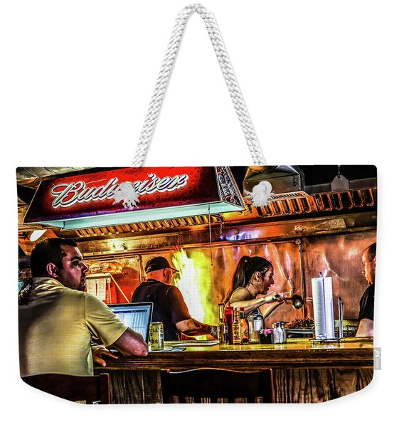 068 - Roadhouse Weekender Tote Bag