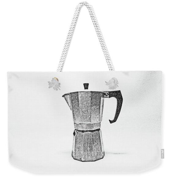 08/05/19 Cafetiere Weekender Tote Bag