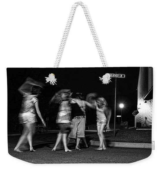 047 - Night Dancing Weekender Tote Bag