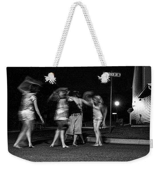 047 - Night Dancing Weekender Tote Bag