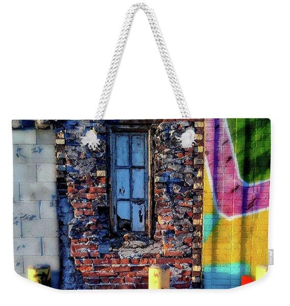A Narrow Window Weekender Tote Bag