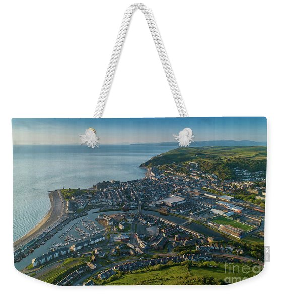 Aberystwyth From The Air Weekender Tote Bag