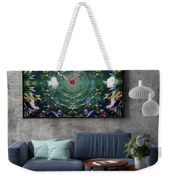 Abstract Cherry Blossom Weekender Tote Bag