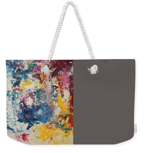 Playing With Color IIi Weekender Tote Bag