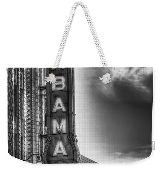 Alabama Theatre Weekender Tote Bag