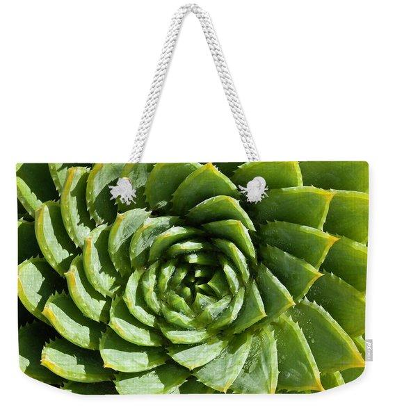 Aloe_polyphylla_8536.psd Weekender Tote Bag