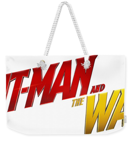 Ant Man And The Wasp Weekender Tote Bag