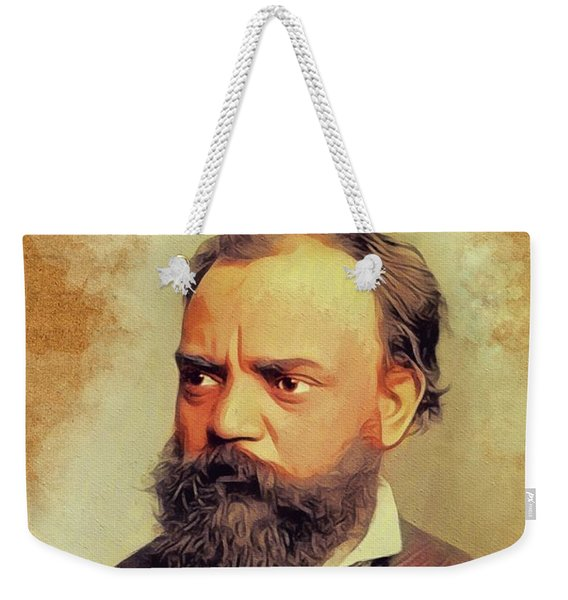 Antonin Dvorak, Music Legend Weekender Tote Bag