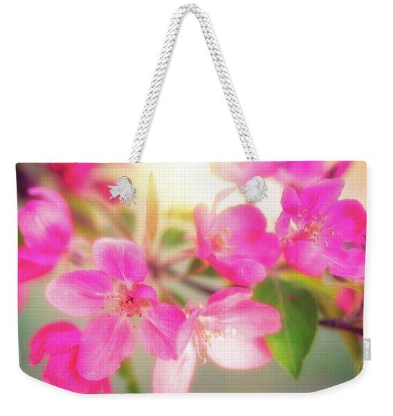 Apple Blossom 6 Weekender Tote Bag