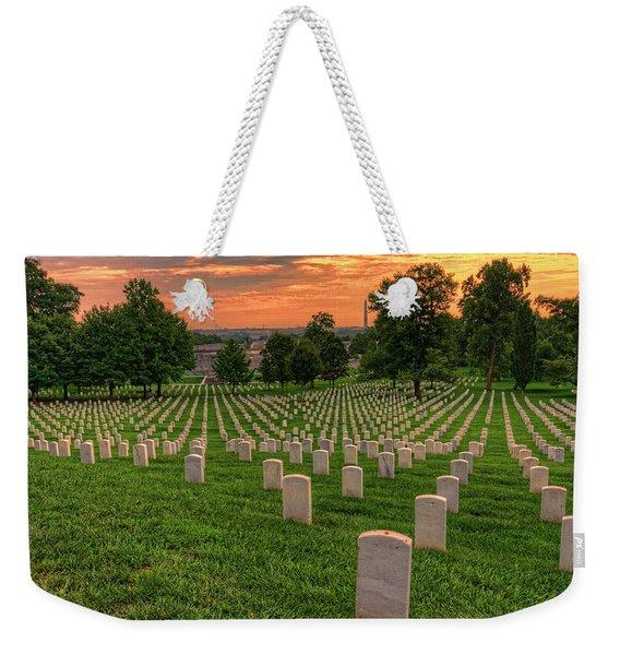 Arlington National Cemetery Sunrise Weekender Tote Bag