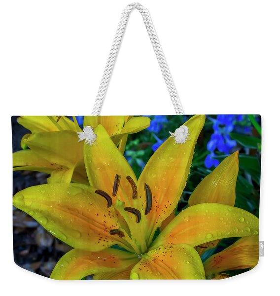 Asiatic Lily Weekender Tote Bag