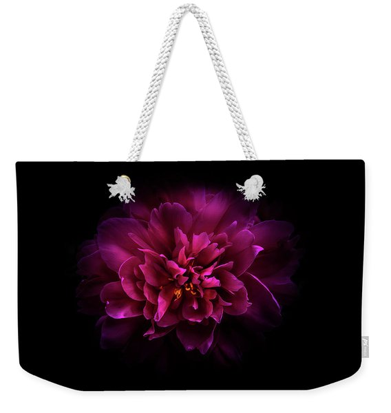 Backyard Flowers 55 Color Version Weekender Tote Bag