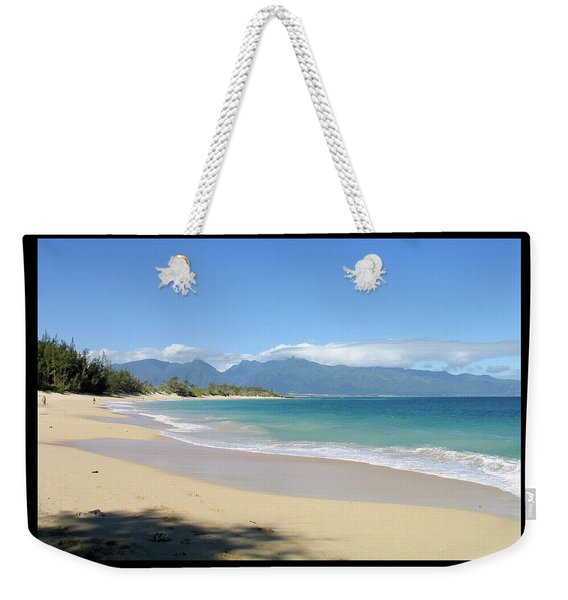 Weekender Tote Bag featuring the photograph Baldwin Beach Maui by Frank DiMarco