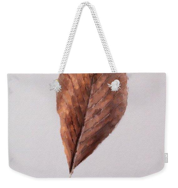Beech Leaf Weekender Tote Bag