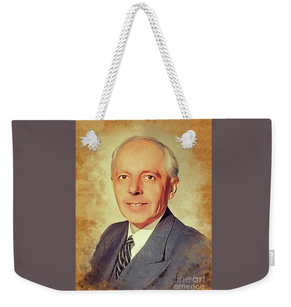 Bela Bartok, Music Legend Weekender Tote Bag