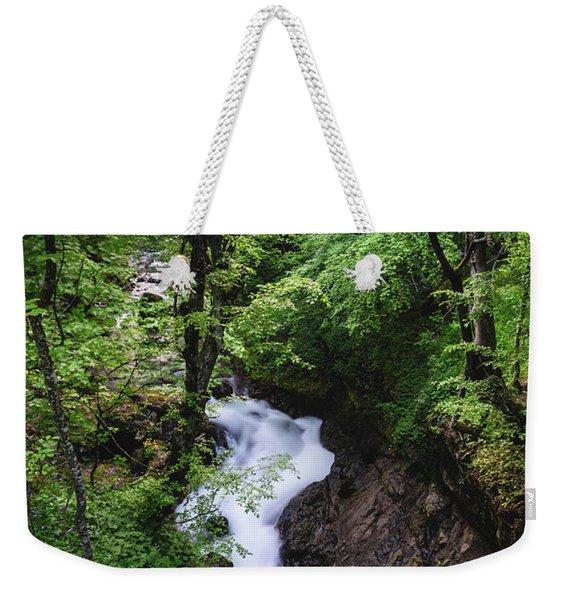 Bela River, Balkan Mountain Weekender Tote Bag