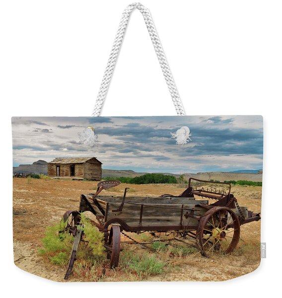 Bighorn Basin History Weekender Tote Bag