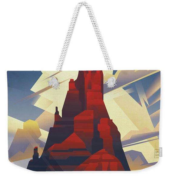 Black Mesa See America Weekender Tote Bag
