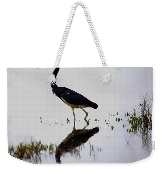 Blue Reflection Weekender Tote Bag