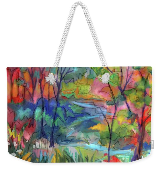 Bright Country Weekender Tote Bag