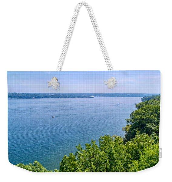 Cayuga Lake Weekender Tote Bag