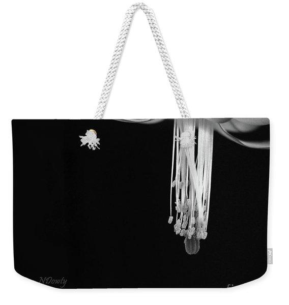 Christmas Cactus Stamen Weekender Tote Bag