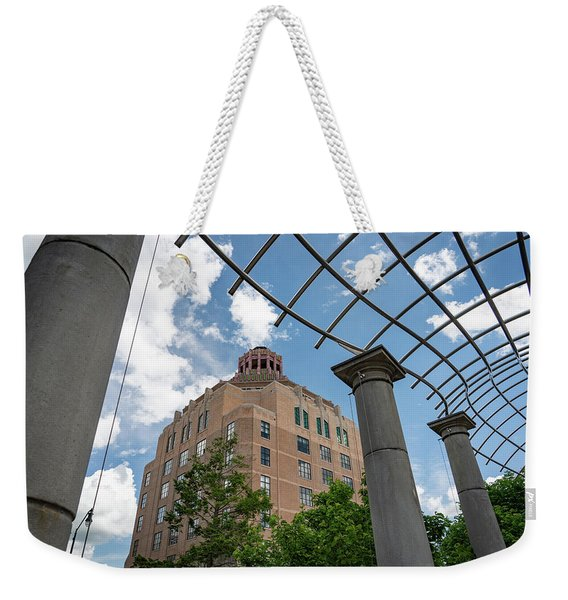 City Hall View Weekender Tote Bag