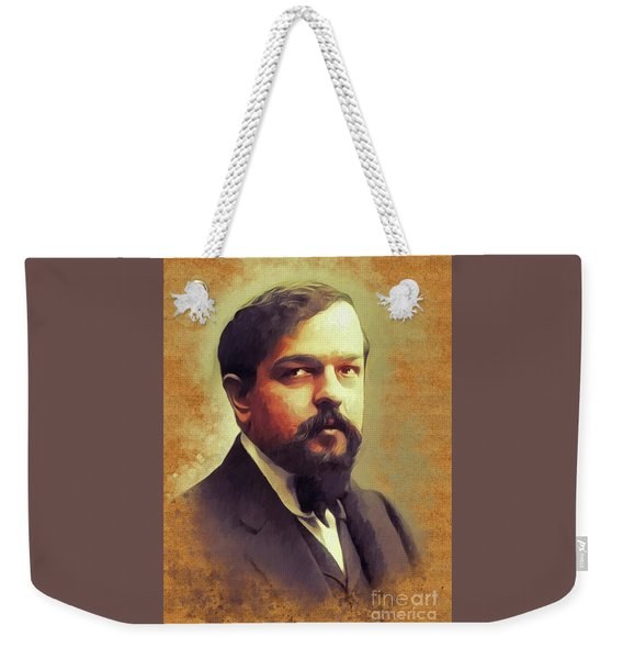 Claude Debussy, Music Legend Weekender Tote Bag