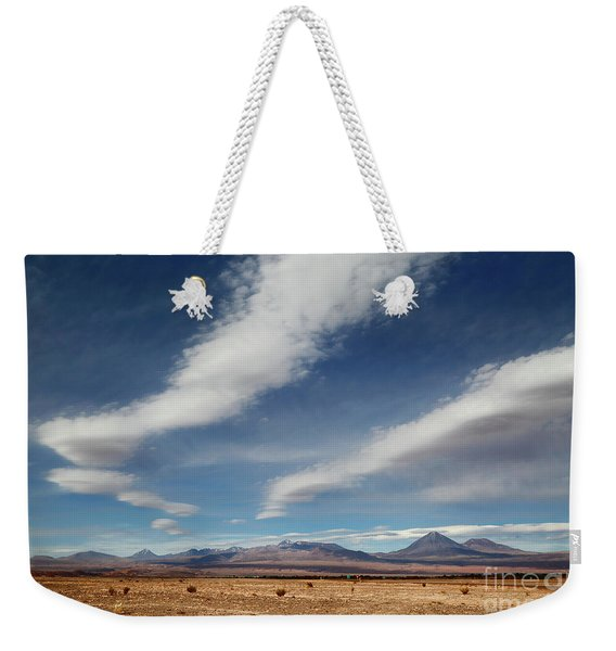 Clouds Over The Atacama Desert Chile Weekender Tote Bag
