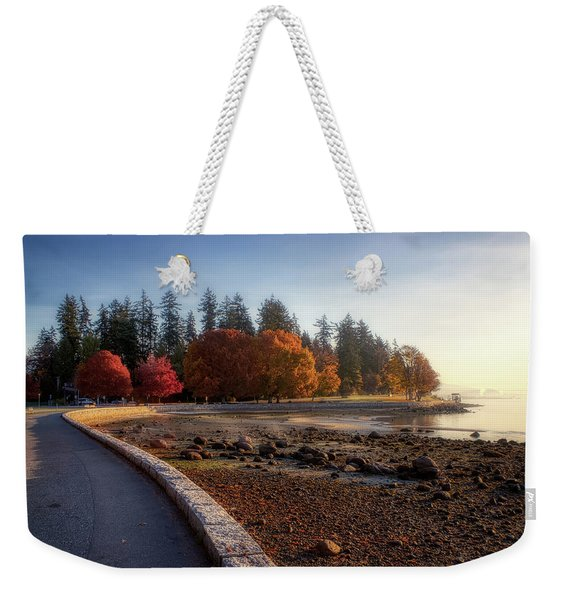 Colorful Autumn Foliage At Stanley Park Weekender Tote Bag
