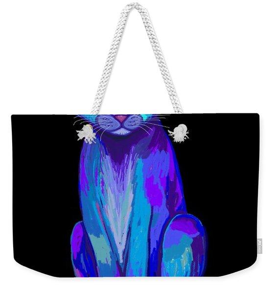Colorful Calico Cat Weekender Tote Bag