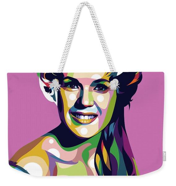 Connie Stevens Weekender Tote Bag