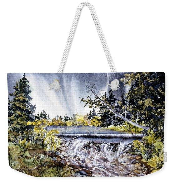 Crystal Creek Weekender Tote Bag