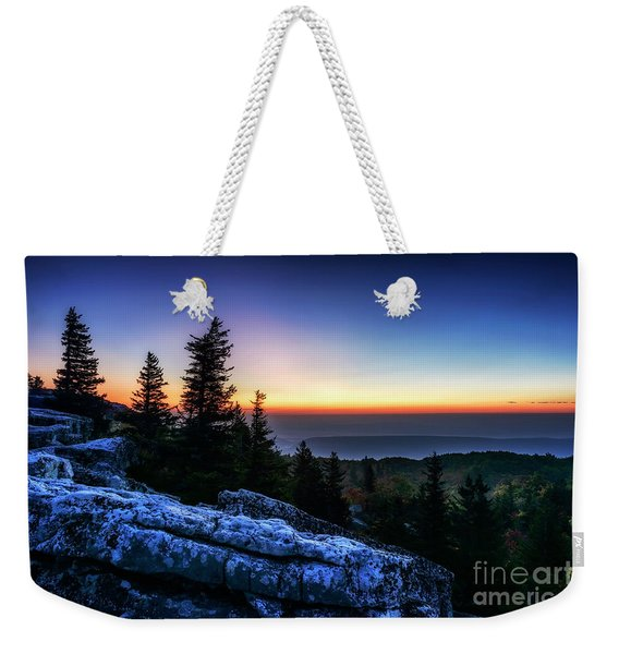 Dawn At Bear Rocks Preserve Weekender Tote Bag