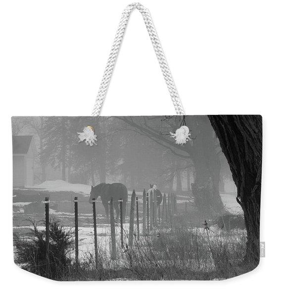 Down The Lane Weekender Tote Bag