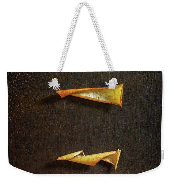 Drying Apple Weekender Tote Bag