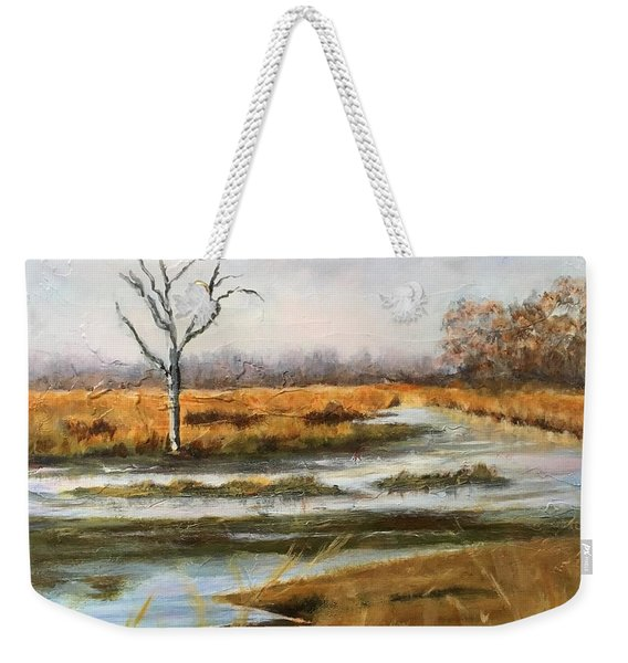 Early Spring On The Marsh Weekender Tote Bag