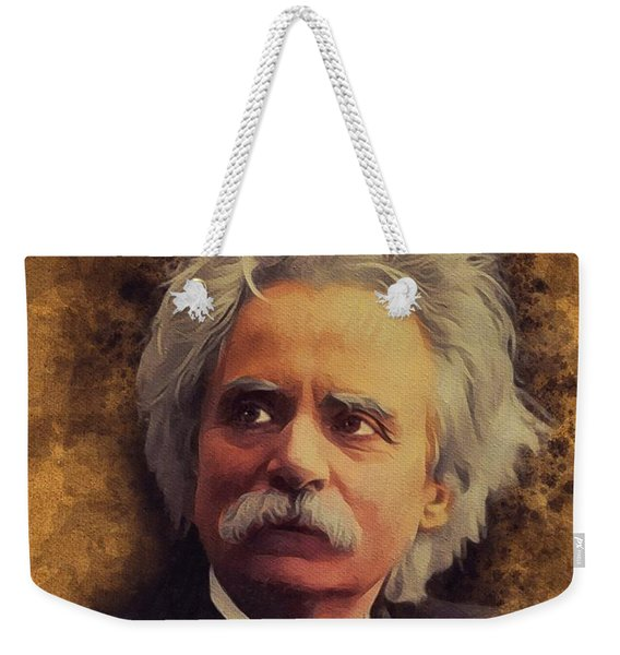 Edvard Grieg, Music Legend Weekender Tote Bag